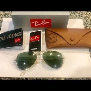 Used Ray-Ban aviators 😎 RB3025 L0205